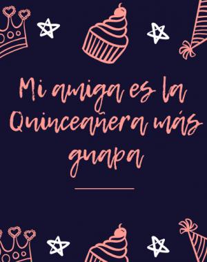 Frases de Cumpleaños para una Quinceañera
