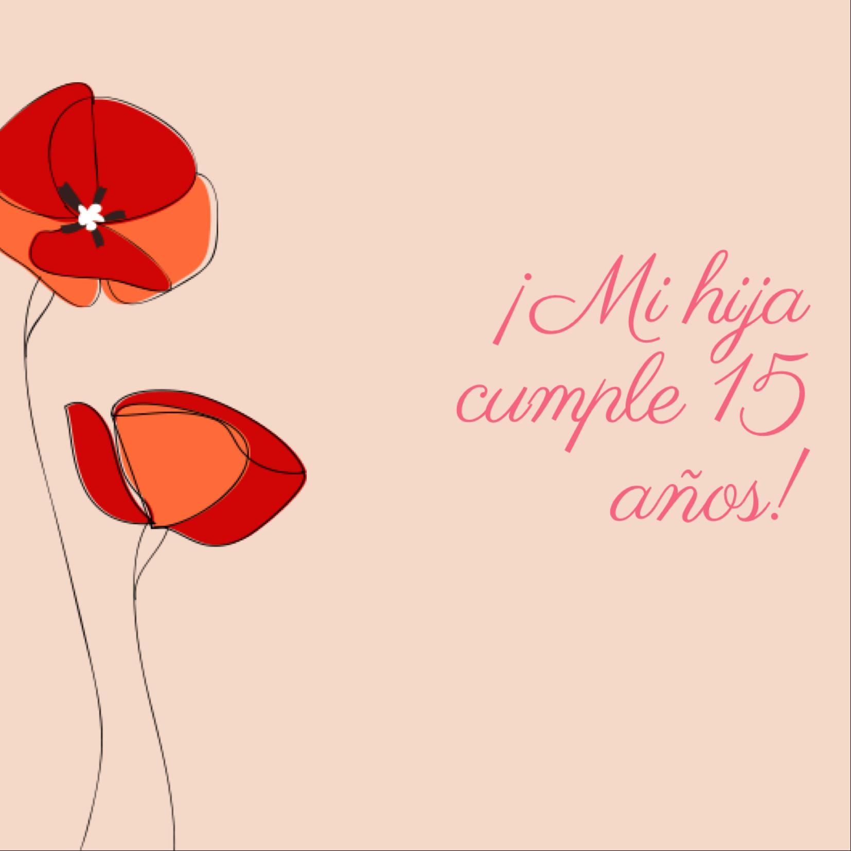 Frases de Cumpleaños para una Quinceañera5