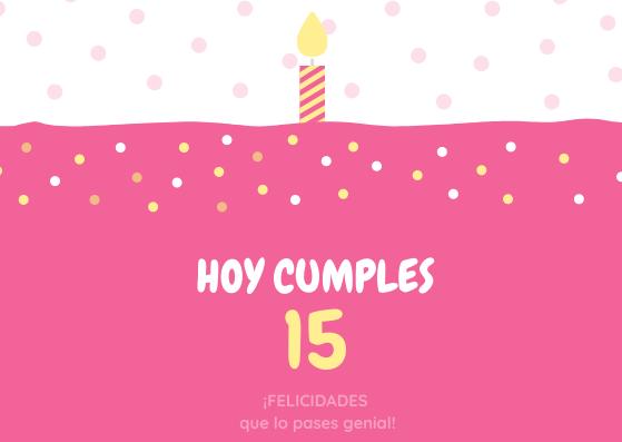 Frases de Cumpleaños para una Quinceañera7
