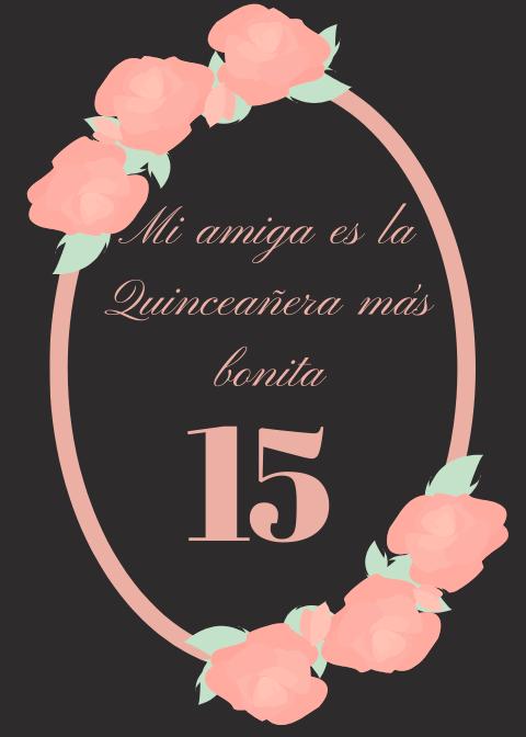 Frases de Cumpleaños para una Quinceañera8